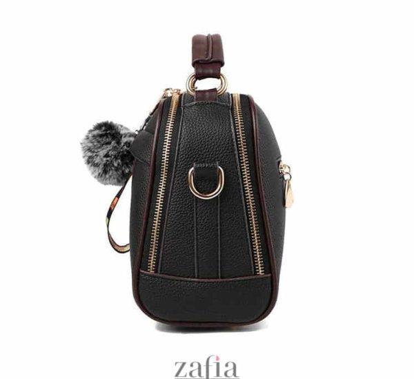 geanta dama casual office alice neagra zafia.ro side