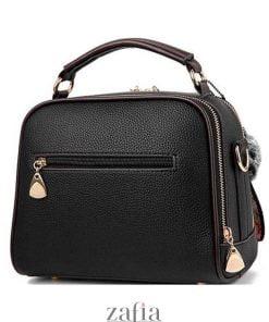 geanta dama casual office alice neagra zafia.ro spate