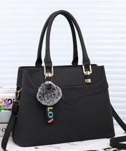 geanta dama negru three zafia.ro