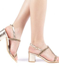 Sandale dama Anvera aurii