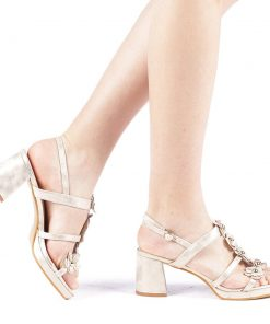 Sandale dama Ajubila aurii