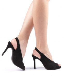 Sandale dama Slimi negre