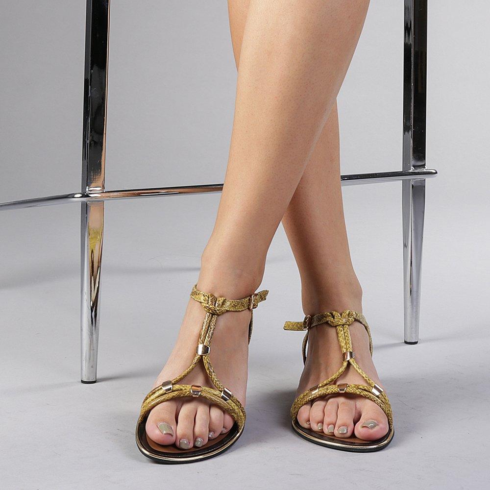 Sandale dama Holman galbene