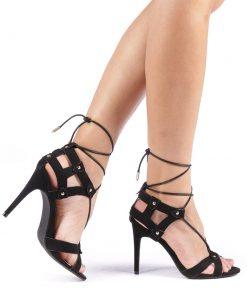 Sandale dama Umma negre