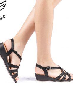 Sandale dama Felya negre