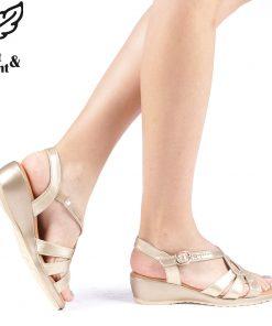 Sandale dama Felya aurii