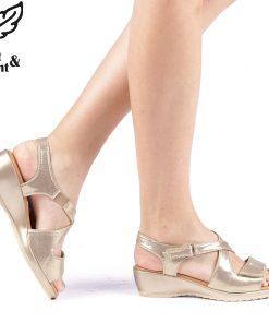 Sandale dama Amalya aurii
