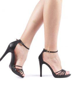 Sandale dama Axila negre