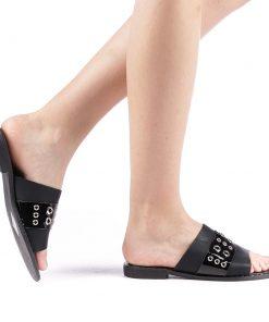 Papuci dama Alogo negri