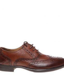 Pantofi barbati Ahile maro