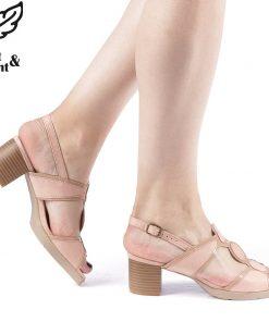 Sandale dama Gildia roz