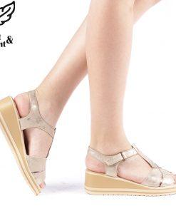 Sandale dama Filosa aurii