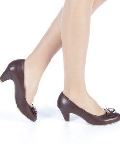 Pantofi dama Ririla maro