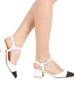 Pantofi dama Givisa albi