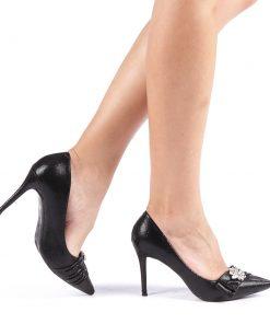 Pantofi dama Floria negri