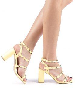 Sandale dama Clementa galbene