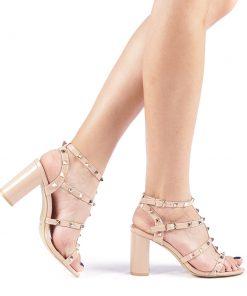 Sandale dama Clementa nude