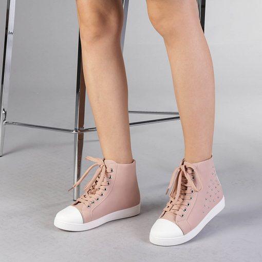 Pantofi sport dama  Iarina roz
