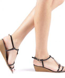Sandale dama Ivett negre