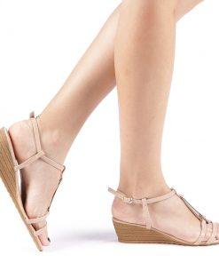 Sandale dama Ivett nude