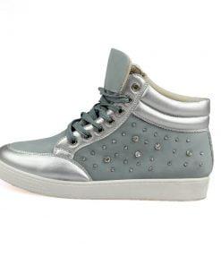Pantofi sport dama  Ionela gri albastrui