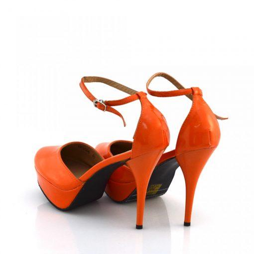 Sandale femei orange