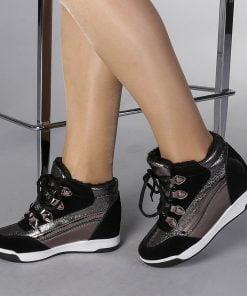 Pantofi sport dama  Cosmina argintiu