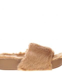 Papuci dama Julia bej