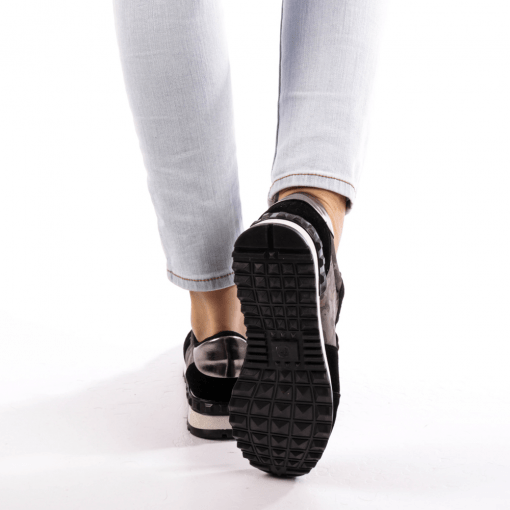 Pantofi sport dama Athena negri