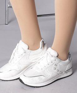 Pantofi sport dama Vivienne albi