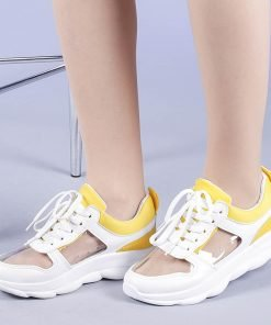 Pantofi sport dama Calista galbeni