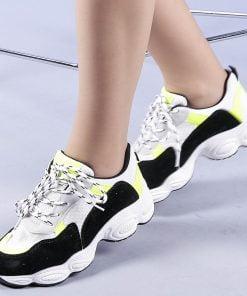 Pantofi sport dama Rosalia galbeni