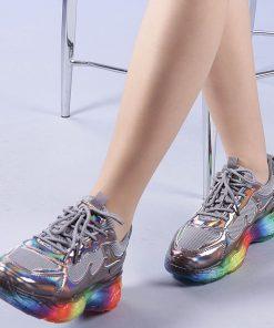 Pantofi sport dama Riya gri