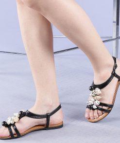 Sandale dama Rozina negre