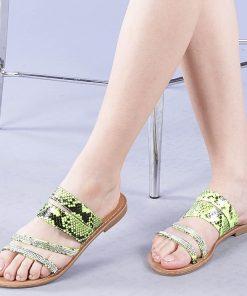 Papuci dama Sancha galbeni