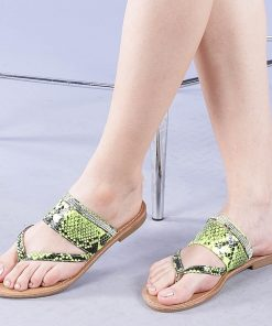 Papuci dama Savanna galbeni