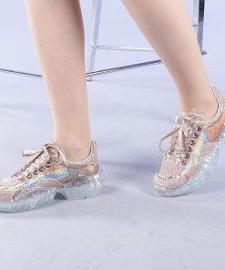 Pantofi sport dama Tabitha champanie