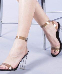 Sandale dama Zasha negre