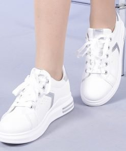 Pantofi sport dama Romana argintii