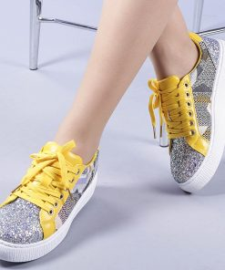 Pantofi sport dama Lorelai galbeni