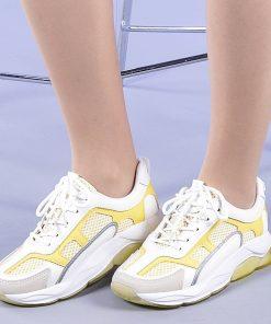 Pantofi sport dama Tonia galbeni